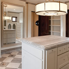 Mediterranean Closet by Allied Stone