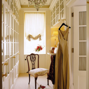 Dressing room - shabby-chic style dressing room idea in Chicago
