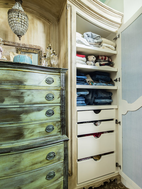 Shabby Chic Style Walk In Closet Design Ideas Remodels