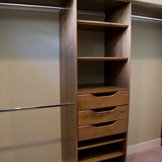 Craftsman Closet by OK Woodcrafters Co.