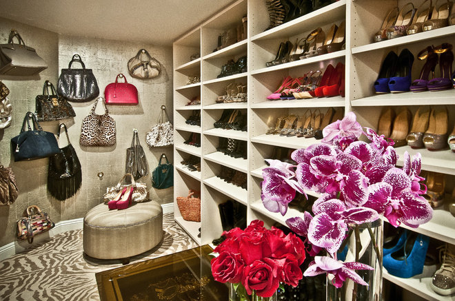 Eclectic Closet by Smith Firestone Associates