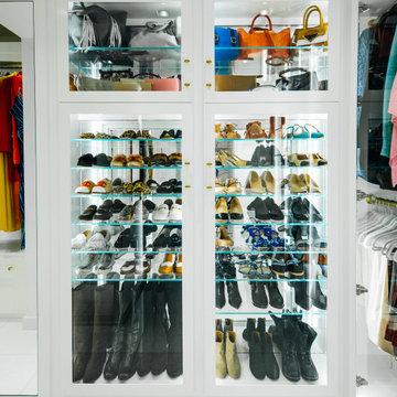 High Rise Luxury Closet