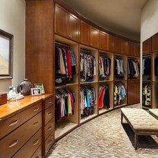 Traditional Closet by Dawn Hearn Interior Design