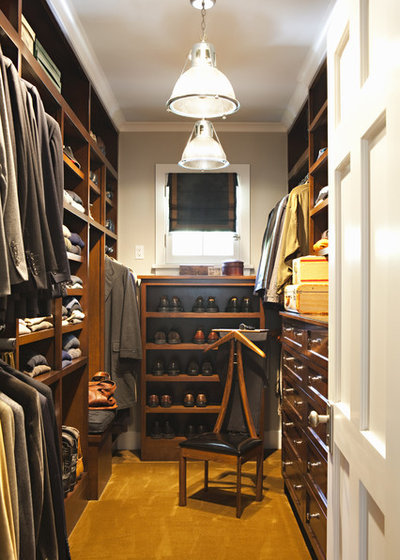 Traditional Closet by Tim Barber Ltd Architecture