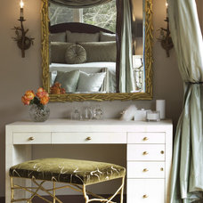 Transitional Bedroom by Diedre Shaw Interiors