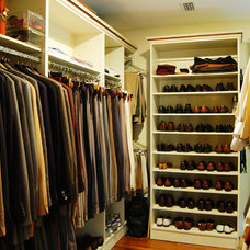 Contemporary Closet by Inndesign Inc