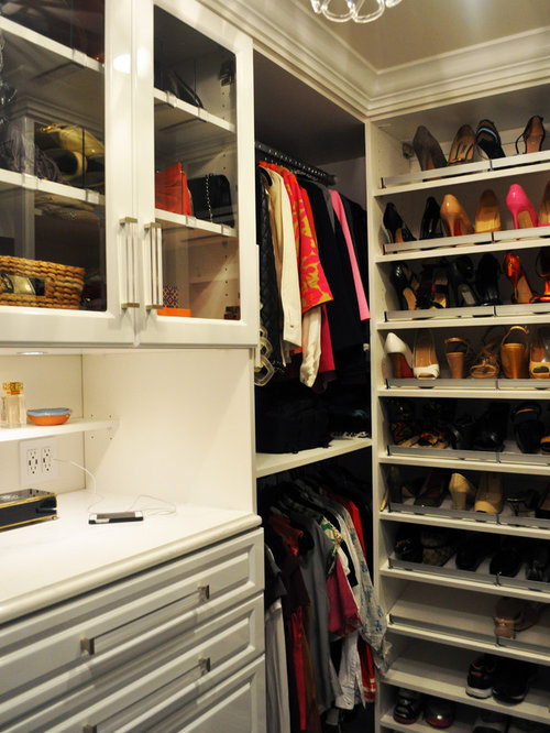 His hers master closets for His and hers walk in closet