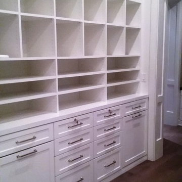His & Hers Master Walk-in Closet