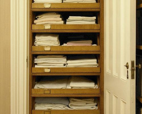 Linen Closet Organization Houzz