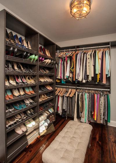 Contemporary Closet by Alair Homes Decatur
