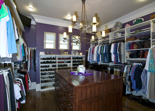 Contemporary Closet by Peg Berens Interior Design LLC