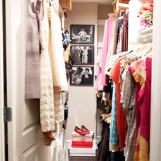 Eclectic Closet by housebeautiful.com