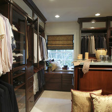Traditional Closet by Annette English