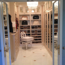 Traditional Closet by Cambas Design & Co.