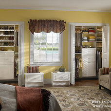 Traditional Closet by Storage By Design .ca