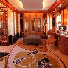 Eclectic Closet Honey Hued Closet