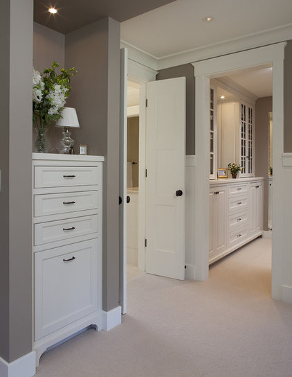 Traditional Closet by Julie Williams Design