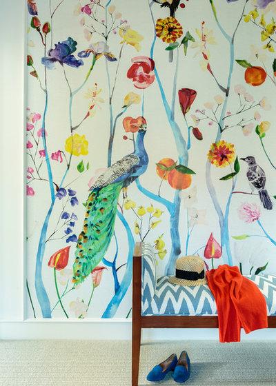 Beach Style Closet by Alison Kandler Interior Design