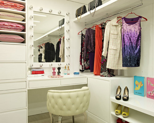 Closet vanity home design ideas pictures remodel and decor for Closet vanity ideas