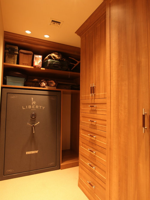 Built In Safe Home Design Ideas, Pictures, Remodel and Decor