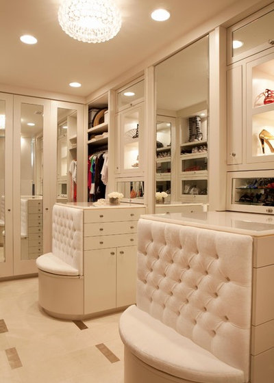 Contemporary Closet by Michael Fullen Design Group