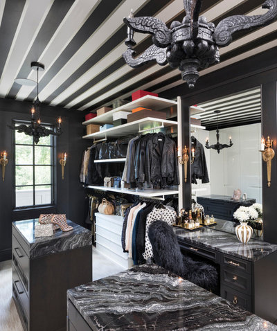 Contemporary Closet by Dwelling Designs