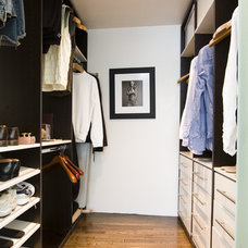 Contemporary Closet by Jessica Boudreaux, Boudreaux Design Studio