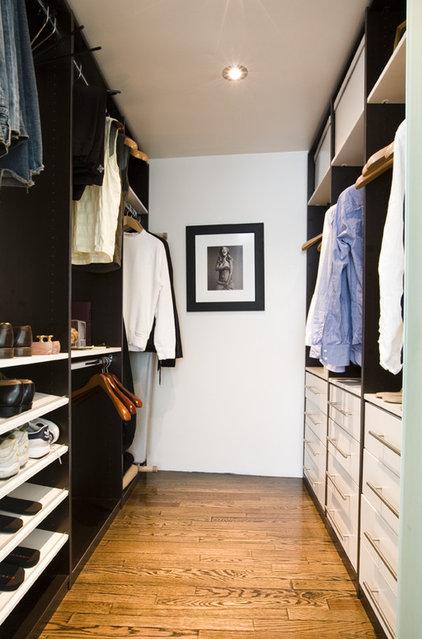 Contemporary Closet by Boudreaux Design Studio