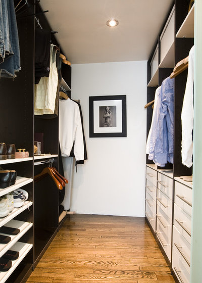 Contemporary Closet by Boudreaux Design Studio
