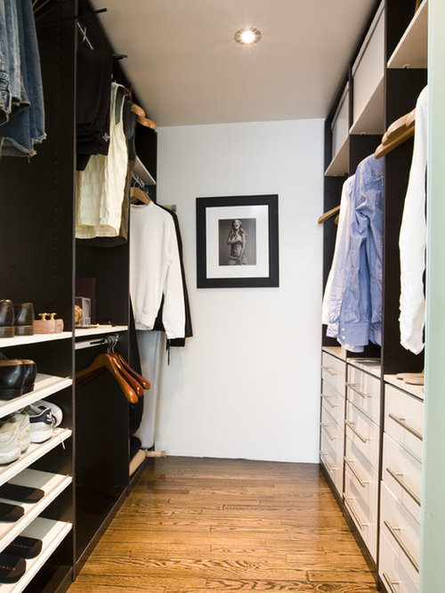 L shape walk in closet home design ideas pictures for 6x6 room design