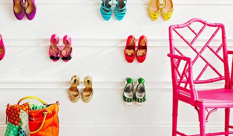 12 soluciones decorativas para tener los zapatos bien ordenados