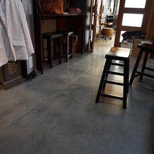 Industrial Salon Floors
