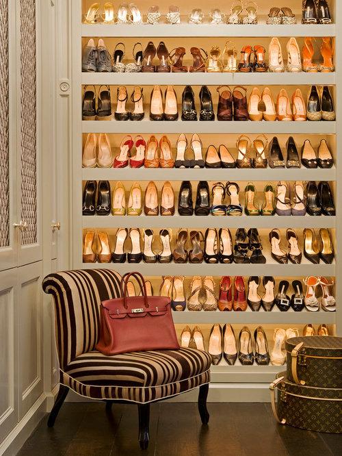 Shoe Closet   Houzz