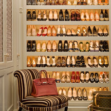 Traditional Closet by Tim Clarke Design