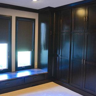 Ejemplo de armario vestidor bohemio grande