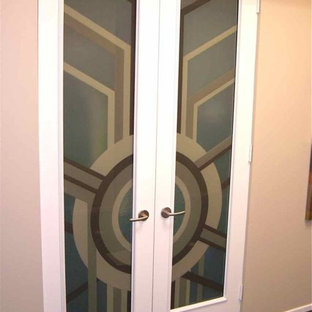 Interior Glass Doors with Obscure Frosted Glass Sun Odyssey 3D in Color