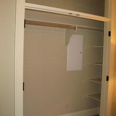 Traditional Closet interior