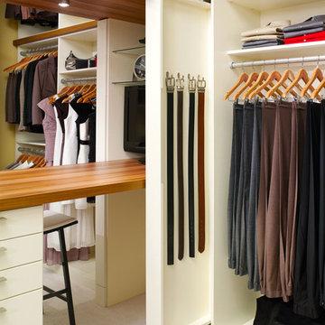 Interior Organization/Storage - Walk-In Closets