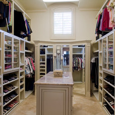 Traditional Closet by Perfection Homes