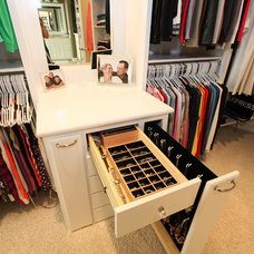 Traditional Closet by Rocca Custom Homes