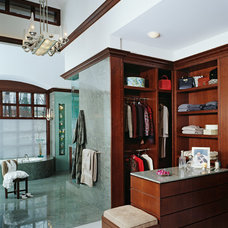 Asian Closet by DesRosiers Architects