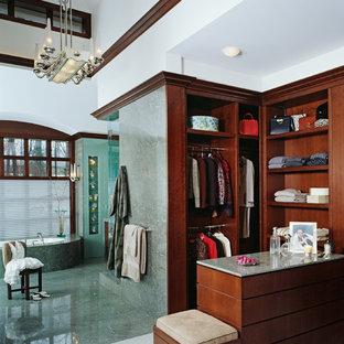 Dressing room - transitional dressing room idea in Detroit