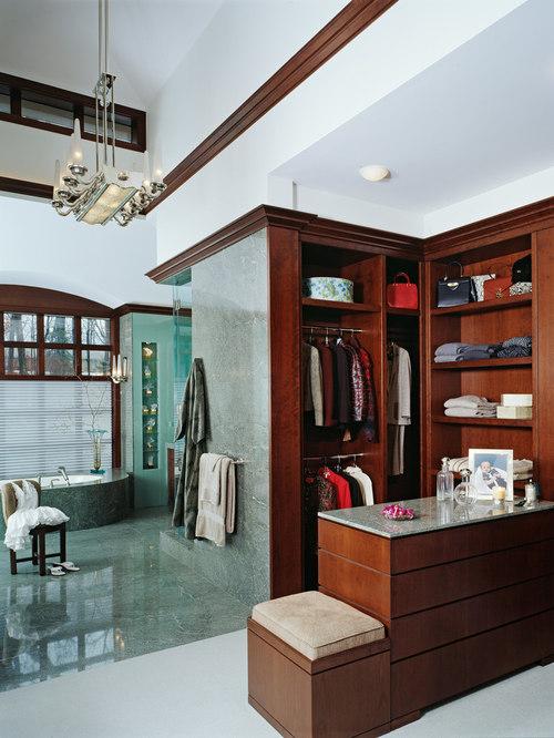 Open Concept Bathroom Houzz