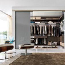 Modern Closet by Yamini Kitchens & More