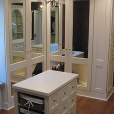 Traditional Closet by Green Trade Contracting