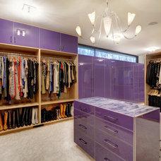 Contemporary Closet by Cablik Enterprises