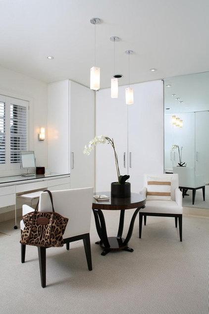 Contemporary Closet by JD Ireland Interior Architecture + Design