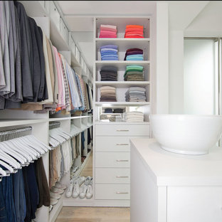 Inspiration for a 1960s closet remodel in Orange County