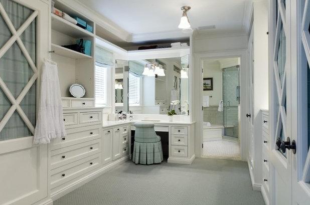 Traditional Closet by KBK Interior Design