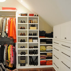 Traditional Closet by Ketron Custom Builders
